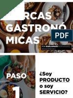 Marcas Gastronomicas / KARLA MARY HERNANDEZ