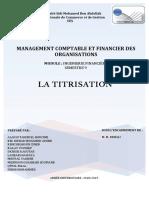 Rapport Montage Financier