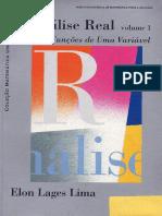 (Coleção Matemática Universitária) Elon Lages Lima - Análise Real. Vol.1_ Funções de Uma Variável. 1-IMPA (2006).pdf