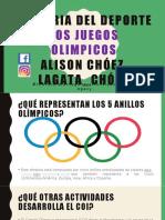 Juegos Olimpicos Preguntas