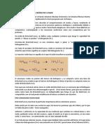 Teoría ácido