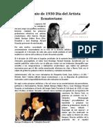 4 de junio de 1930 Día del Artista Ecuatoriano.docx