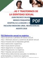 Parafilias y Trastornos de La Inclinacion Sexual