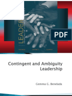 Contingent and Ambuguity Leadership
