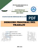 Derecho Procesal Del Trabajo Final