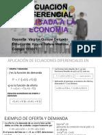 Ecuacion Diferencial Aplicada a La Economia