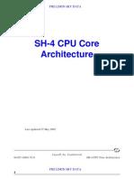 SH4 Core Architecture