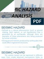 Seismic Hazard Analysis