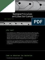 Nanopartículas antibacterianas