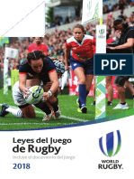 World Rugby leyes 2018 ES