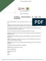 Lei Ordinária 16758 2002 de Recife PE - Aviso Nas Botoeiras de Pavimento