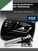 Manual Otoscopio