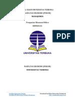 Soal Ujian UT Manajemen ESPA4111 Pengantar Ekonomi Mikro.pdf