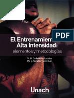 El Entrenamiento de Alta Intensidad Elementos y Metodologias