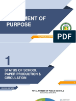 Status Report of School Publication PDF