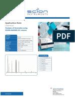 Analysis of Aromatics Using SCION WAXMS GC Column