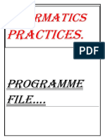 Informatics Practices Project Perfect Guider Madhav Agarwal