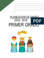 Planeacion de Enero 2018 - 2019 Primer Grado