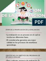 Presentacion Planificacion de La Evaluacion