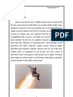 Ejection Seat Report