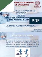 MANEJO DEL ENTORNO HOSPITALARIO