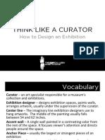 Think Like a Curator