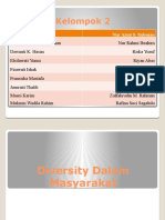 Diversity Dalam Masyarakat