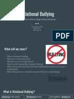 relational bullying presentation