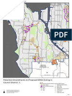 Seattle City Council - MHA - Potential Changes to the Proposed Zoning Map