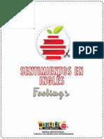 Material de Emociones en Ingles
