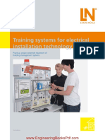 Training Systems for Electrical Installation Technology