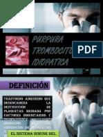 Púrpura Trombocitopénica Inmunitaria