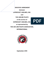 ExpressJet 2018 Pilot Contract