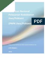 PNPK Psikiatri PDSKJI 2012 Lengkap