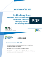 Overview of SS 560 Singapore Standard