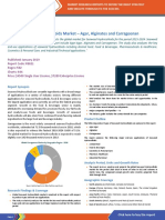Seaweed Hydrocolloids Global Market - Agar, Alginates and Carrageenan 2018-2024