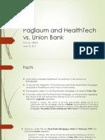 Paglaum and HealthTech vs Unionbank
