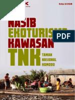 Majalah BISIK (Edisi 2/2018) Nasib ekoturisme Kawasan TNK