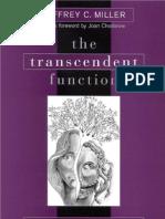 Miller J.C. The Transcendent Function- Jung's Model of Psychological Growth