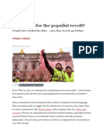 FRANK FUREDI-What Next for the Populist Revolt_spiked_Dec 28, 2018