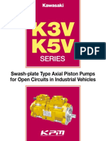 Kawasaki-K3V-K5V-Pumps Catalogue
