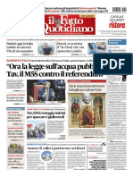 Rassegna Stampa Nazionale e Regionale Dell'Umbria Del 14 Gennaio 2019
