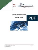 Manual Cessna 208