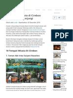 Wisata di Cirebon Wajib