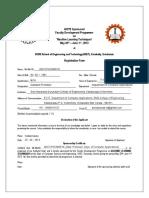 Fdp SCMS Registration Form 20 May - 1 June
