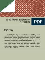 8A-Model Praktik Keperawatan Profesional