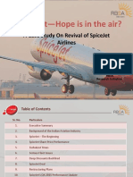 SpiceJet - Hope is in the Air