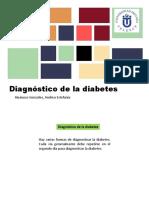 Diagnostico de Diabetes Y prediabetes