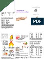Leaflet Diit Luka Bakar