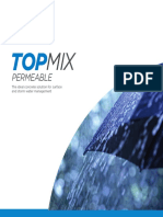 Topmix Permeable Brochure March 2016